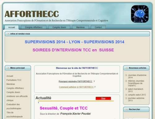 AFFORTHECC  – Association Francophone de FOrmation et de Recherche en THérapie Comportementale et Cognitive